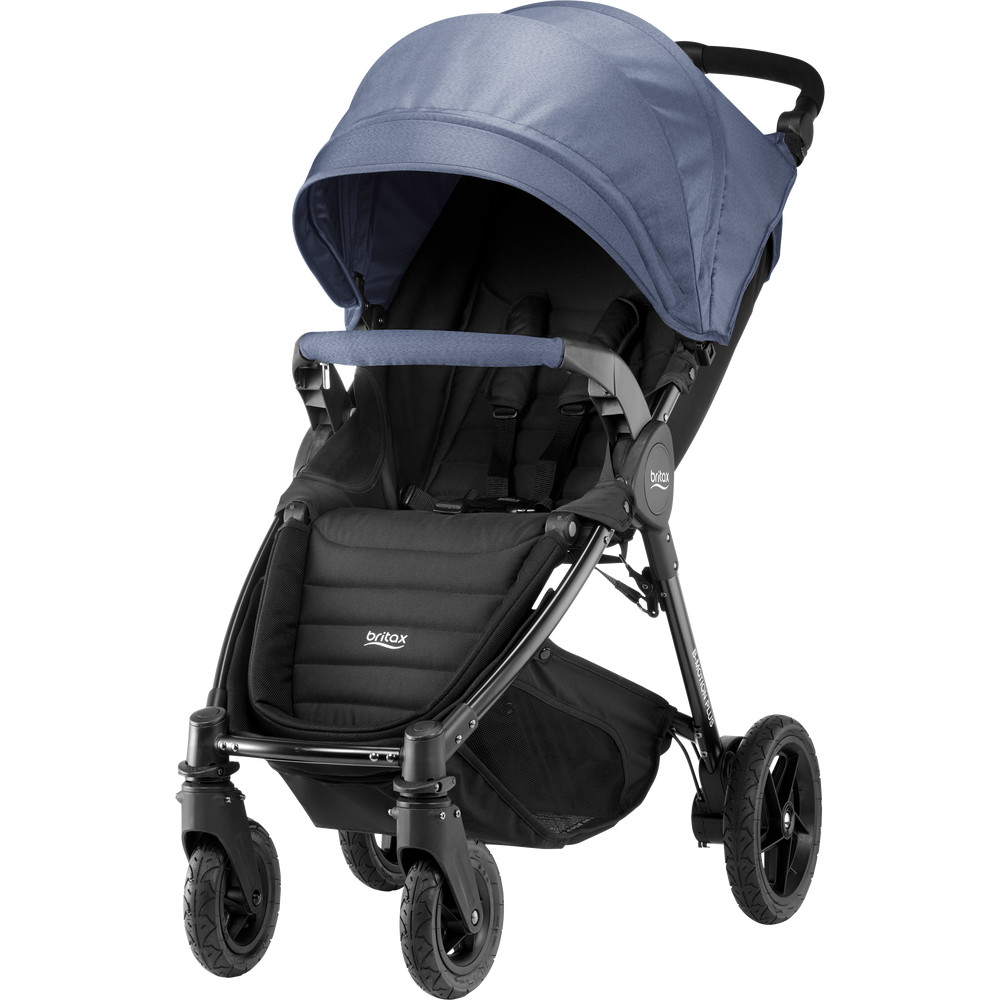 Carucior B-Agile 4 Plus Blue Denim Britax thumbnail
