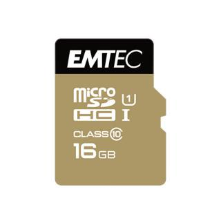 Card Memorie 16GB Cu Adaptor Micro SDHC Class 10 Gold Plus thumbnail