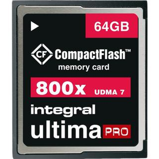 Card Memorie Compact Flash UltimaPRO 64GB thumbnail