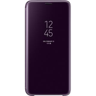 "<font color=""FF00CC"">Promotie!</font> Husa Agenda Clear View Standing Violet SAMSUNG Galaxy S9 thumbnail"