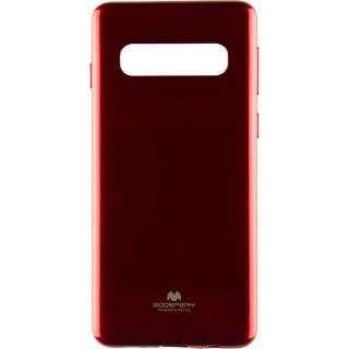 """<font color=""""FF00CC"""">Promotie!</font> Husa Capac Spate Jelly Rosu SAMSUNG Galaxy S10 thumbnail"""