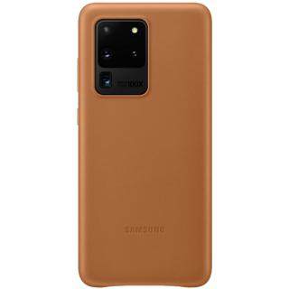 """<font color=""""FF00CC"""">Promotie!</font> Husa Capac Spate Piele Maro SAMSUNG Galaxy S20 Ultra thumbnail"""