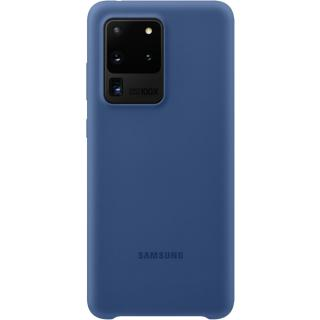 "<font color=""FF00CC"">Promotie!</font> Husa Capac Spate Silicon Navy Blue Albastru SAMSUNG Galaxy S20 Ultra thumbnail"