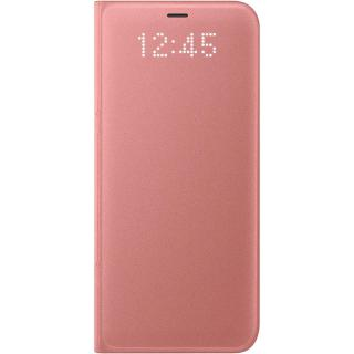 "<font color=""FF00CC"">Promotie!</font> Husa Agenda Led View Roz SAMSUNG Galaxy S8 Plus thumbnail"