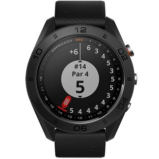 "<font color=""FF00CC"">Promotie!</font> Smartwatch Approach Golf Watch Negru thumbnail"