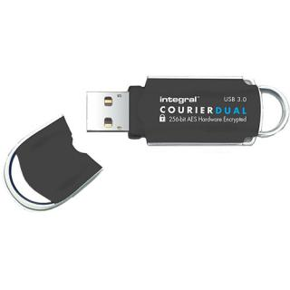 Stick USB 32GB Courier USB 3.0 Dual FIPS Hardware Encrypt thumbnail