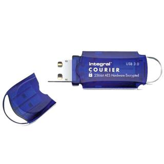 Stick USB 8GB Courier USB 3.0 Fips Hardware Encrypt thumbnail