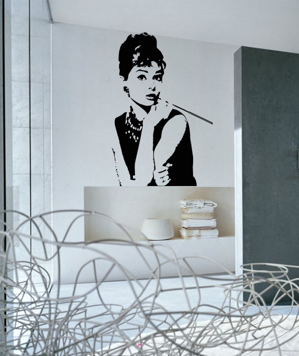 Audrey Hepburn - Sticker Decorativ thumbnail