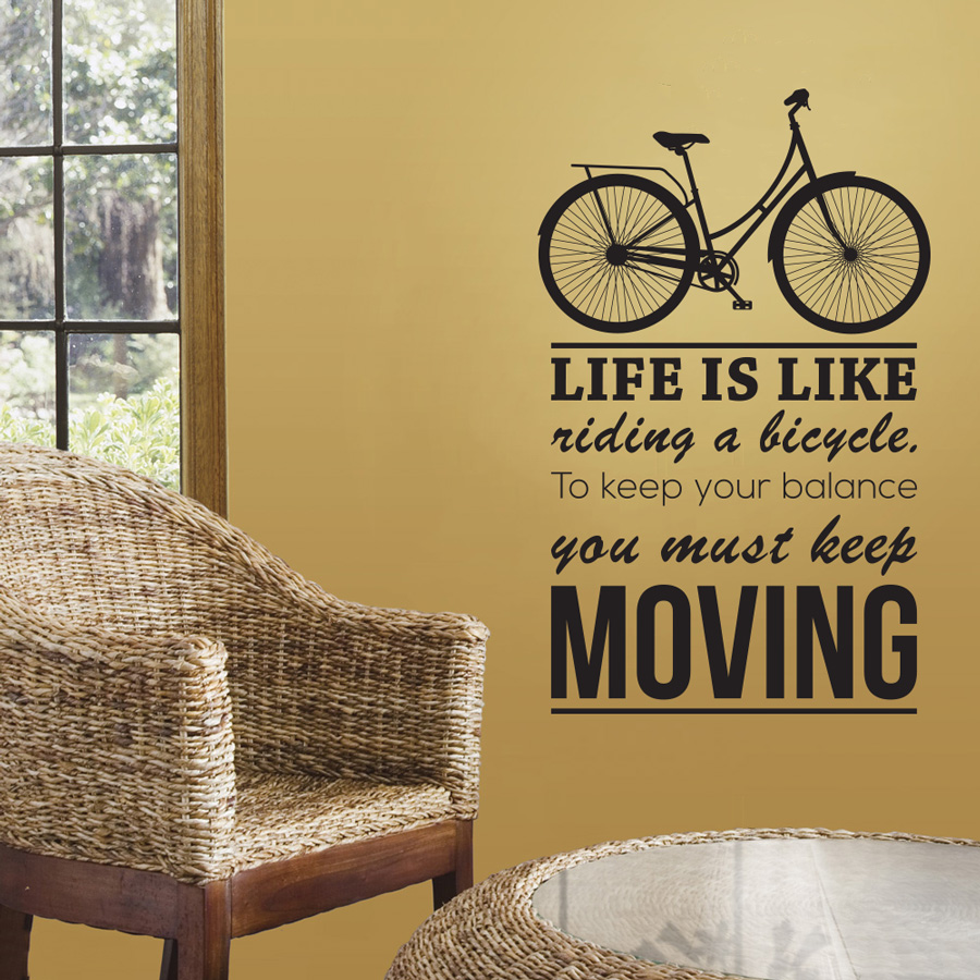 Life Is Like Riding a Bicycle thumbnail