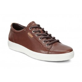 Sneakers casual barbati ECCO Soft 7 (Maro / Whisky) thumbnail