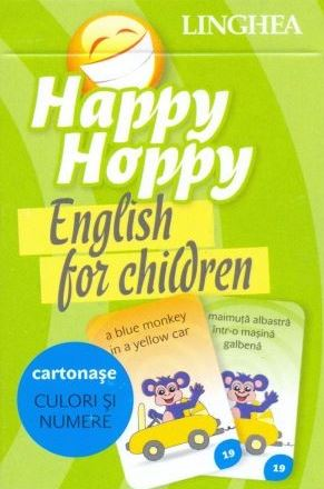 Happy Hoppy. English for Children. Cartonase: Culori si numere thumbnail