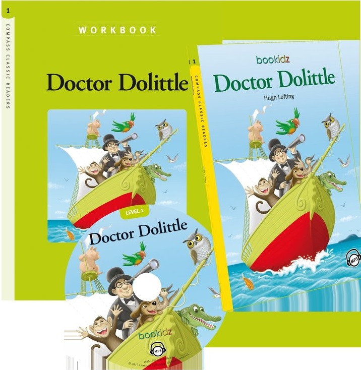 Doctor Dolittle - Hugh Lofting (Compass Classic Readers Nivelul 1) thumbnail