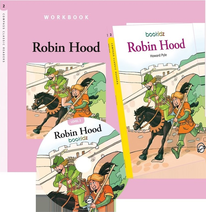 Robin Hood - Howard Pyle (Compass Classic Readers Nivelul 2) thumbnail