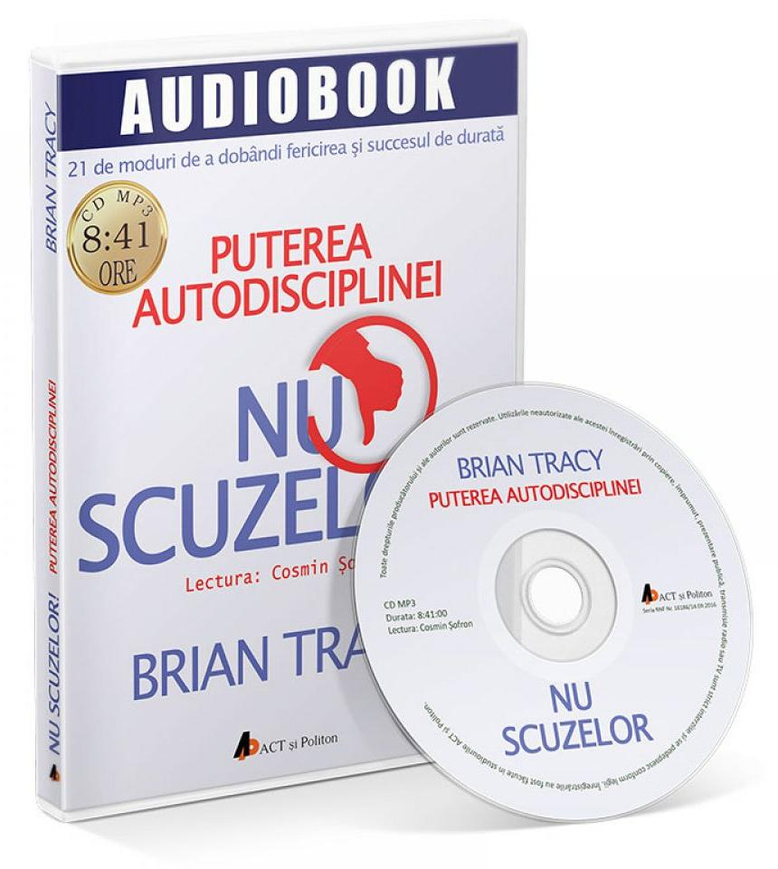 CD Nu scuzelor! - Brian Tracy thumbnail