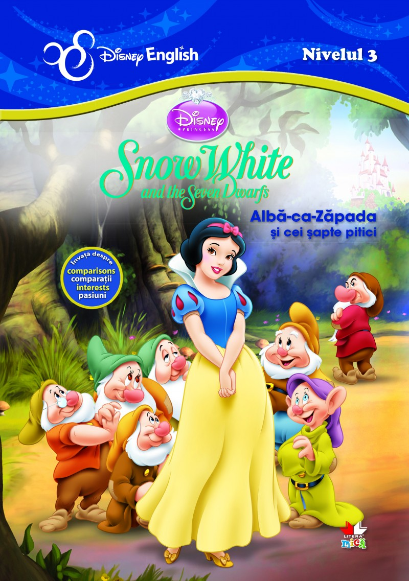 Alba-Ca-Zapada. Snow White - Disney English Nivelul 3 thumbnail