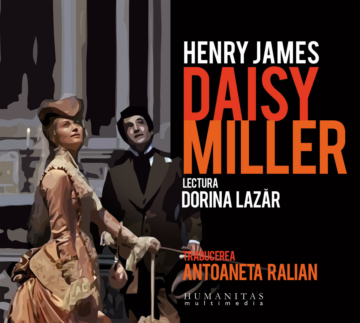 Audio Book CD - Daisy Miller - Henry James. Lectura: Dorina Lazar thumbnail