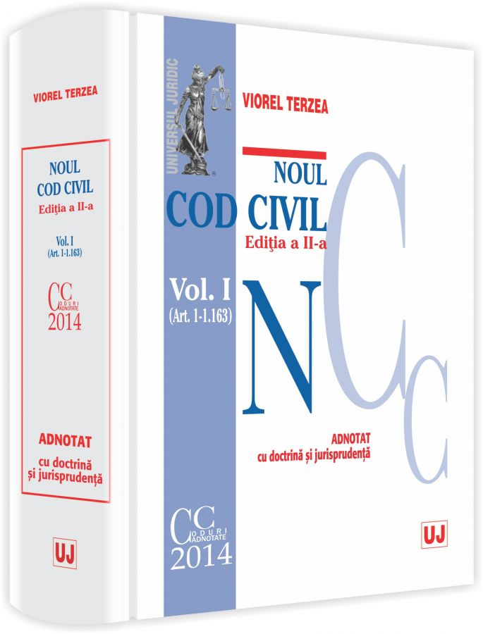 Noul Cod civil vol. II (art. 1.164-2.664) adnotat cu doctrina si jurisprudenta ed. 2 - Viorel Terzea thumbnail