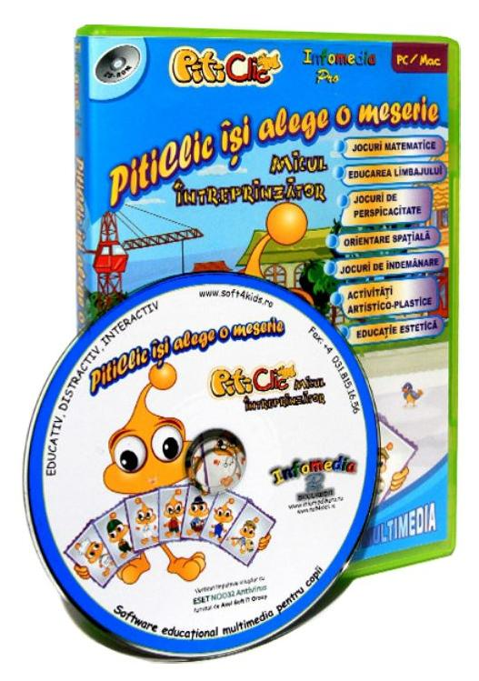 Cd-Rom Piticlic - Piticlic isi alege o meserie thumbnail
