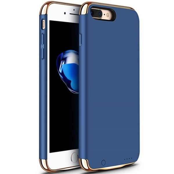 Husa Baterie Ultraslim iPhone 7, iUni Joyroom 2500mAh, Blue thumbnail