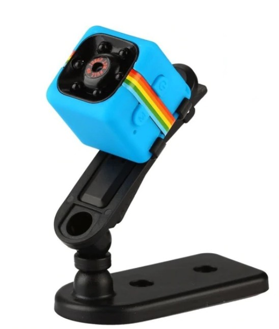 Mini Micro Camera Albastra Sport si Auto Smart Techstar® SQ11 cu Nightvision 12MP thumbnail