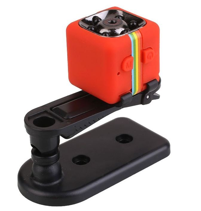 Camera Video Sport Mini-Micro Techstar® SQ11 Rosie cu Suport pt Auto SQ11 cu Nightvision si 12Mpx thumbnail