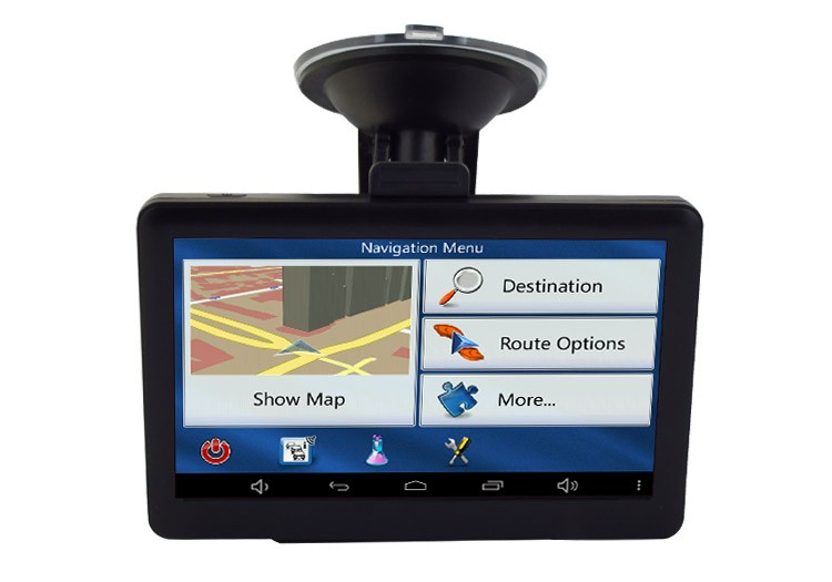 "Navigator GPS Auto Techstar GoTrack K512 de 5"" Ecran HD Windows CE thumbnail"