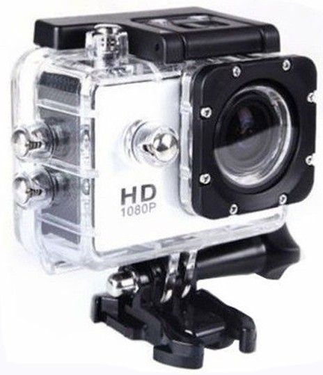 Camera Sport iUni Dare 50i HD 1080P, 12M, Waterproof, Alb thumbnail