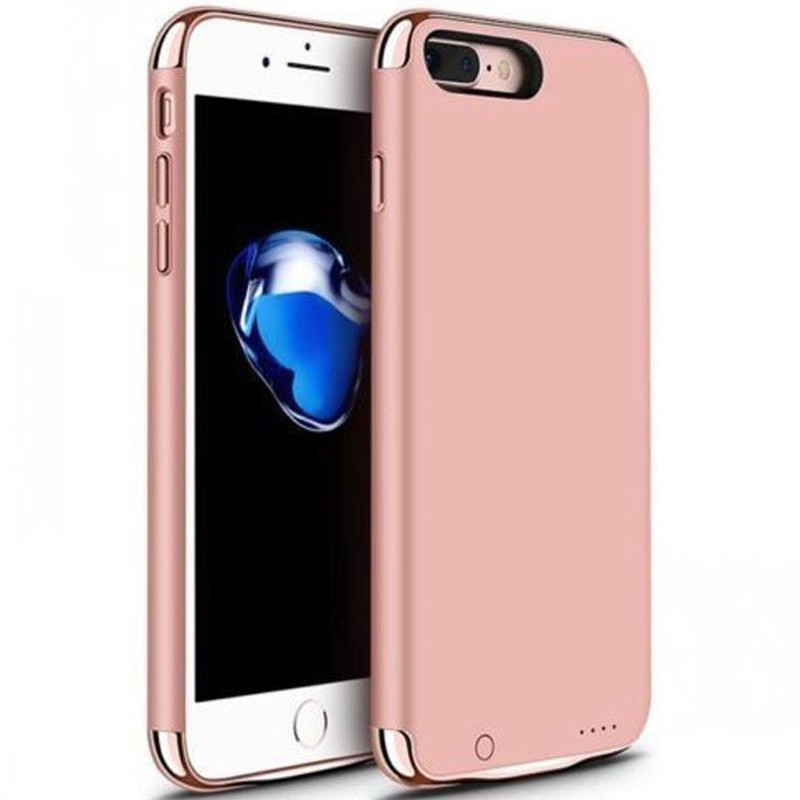 Husa Baterie Ultraslim iPhone 7 Plus/8 Plus, iUni Joyroom 3500mAh, Rose Gold thumbnail