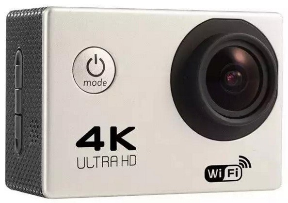 Camera Video Sport 4K iUni Dare 85i, WiFi, mini HDMI, 2 inch LCD, Argintiu + Sport Kit thumbnail