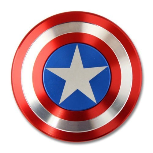 Fidget Spinner Captain America Metalic iUni SM6, Ultrarapid thumbnail