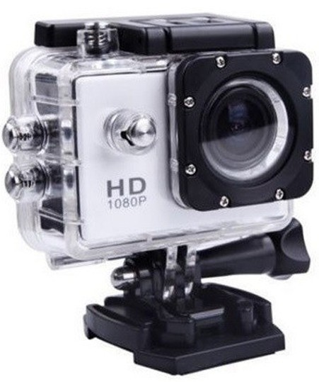 Camera Sport iUni Dare 50i HD 1080P, 12M, Waterproof, Argintiu thumbnail