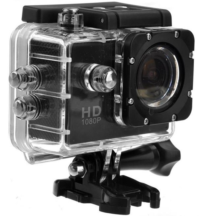 Camera Sport iUni Dare 50i HD 1080P, 12M, Waterproof, Negru thumbnail