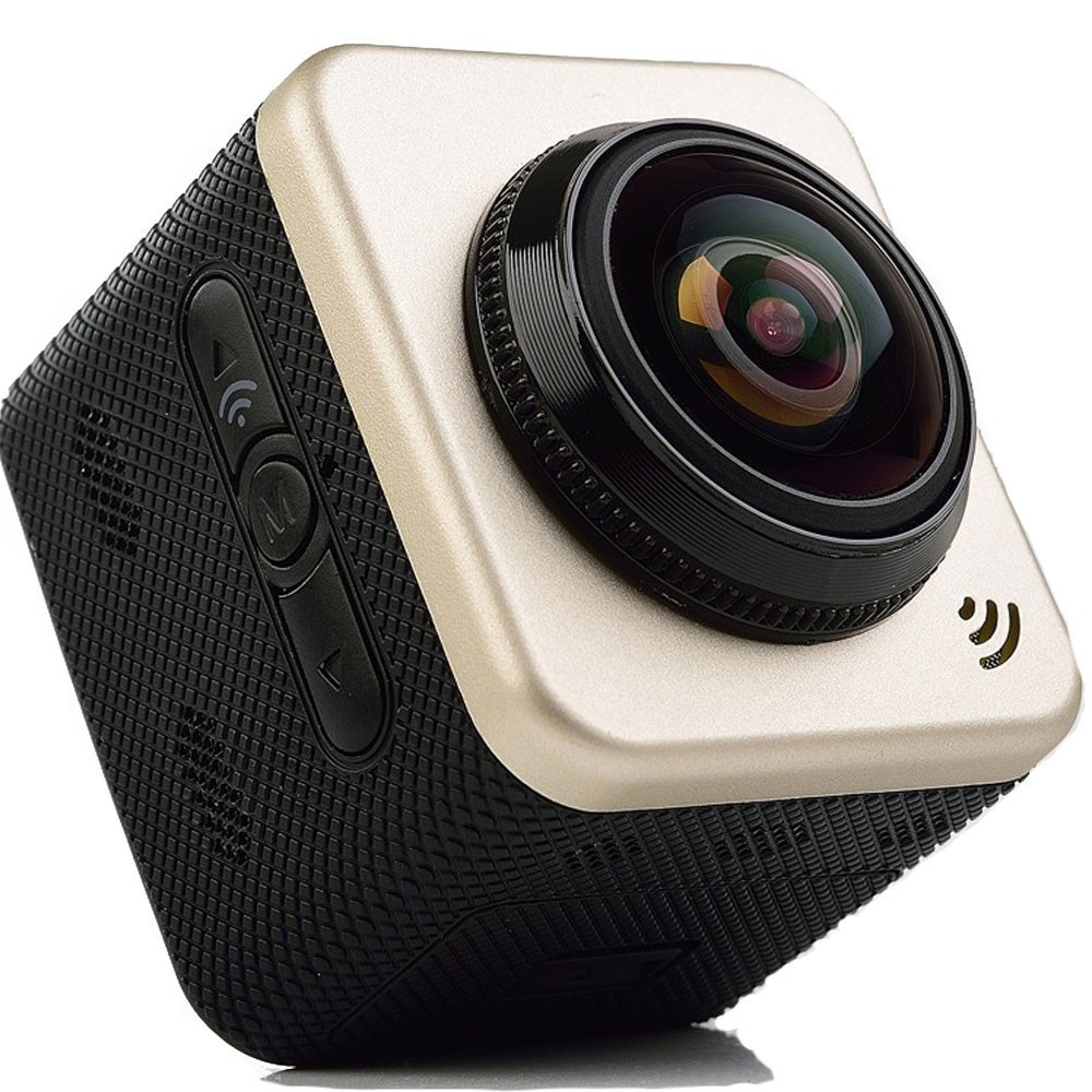 Camera sport iUni Dare CUBE360S Wifi, 1080P, 360 grade, Panoramic, VR Video thumbnail