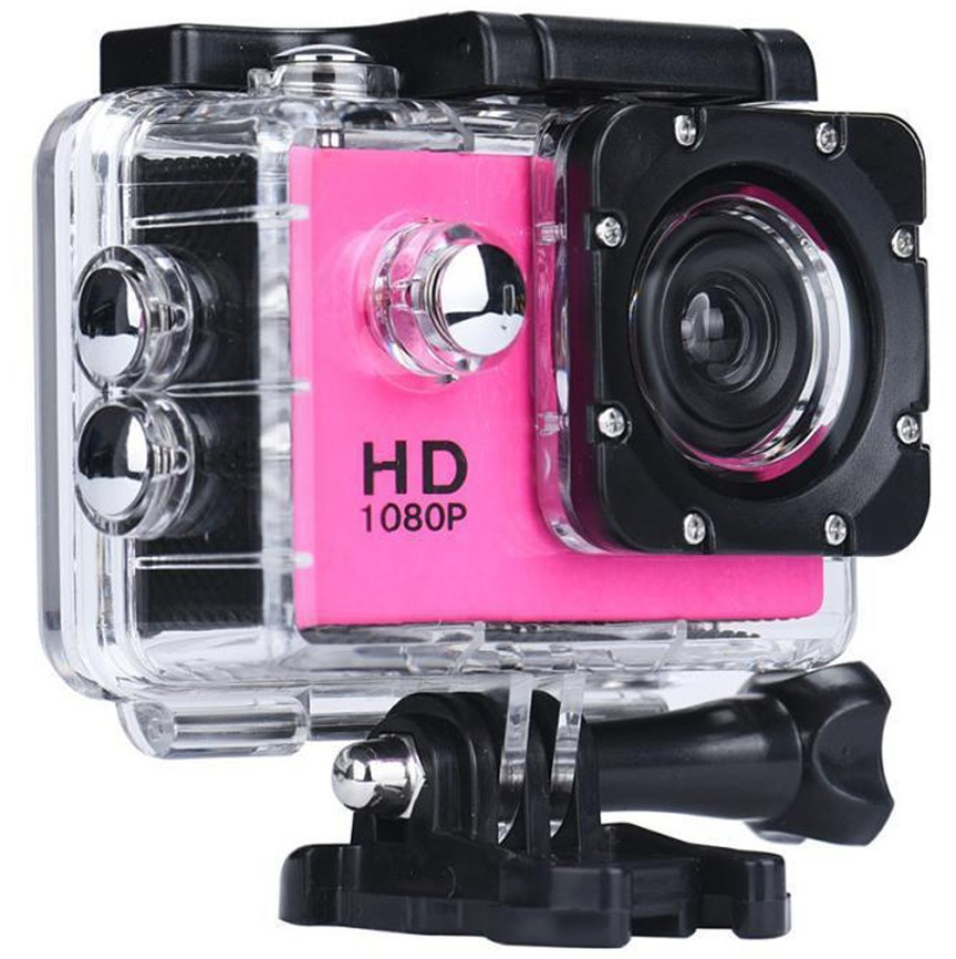 Camera Sport iUni Dare 50i HD 1080P, 12M, Waterproof, Roz thumbnail