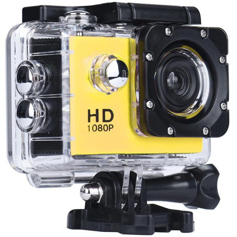 Camera Sport iUni Dare 50i HD 1080P, 12M, Waterproof, Galben thumbnail