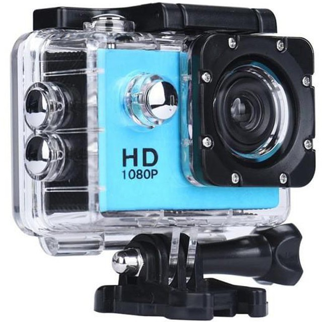Camera Sport iUni Dare 50i HD 1080P, 12M, Waterproof, Albastru thumbnail