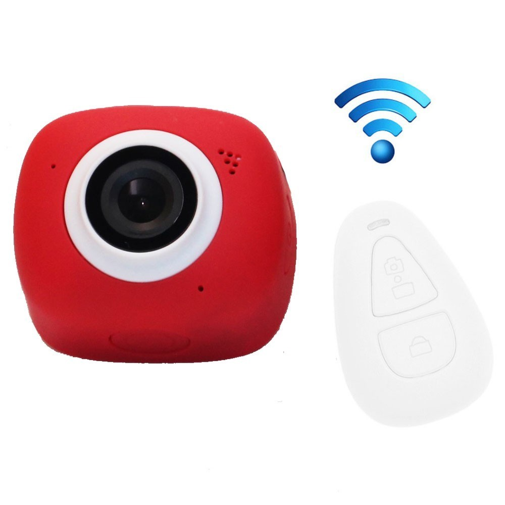 Camera Sport iUni Dare G3i Red, Full HD, WiFi, Telecomanda thumbnail