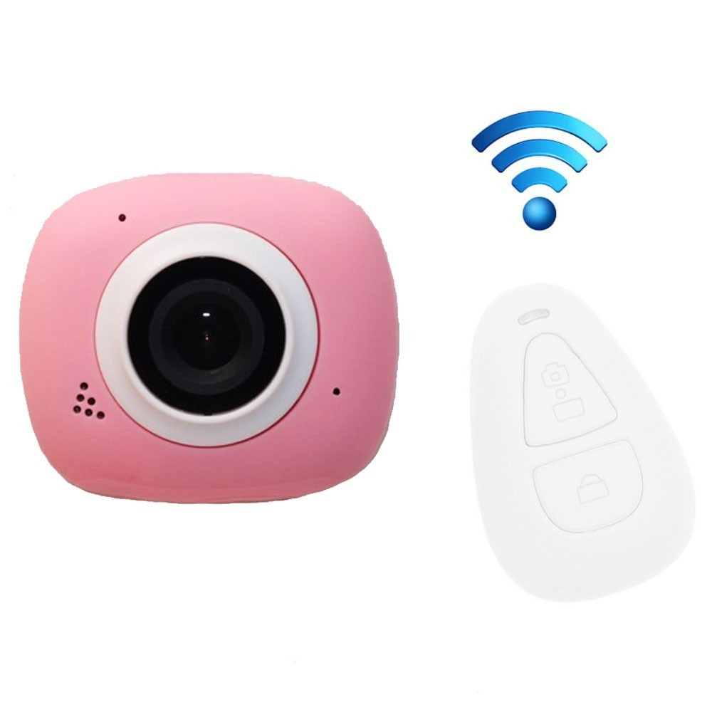 Camera Sport iUni Dare G3i Pink, Full HD, WiFi, Telecomanda thumbnail