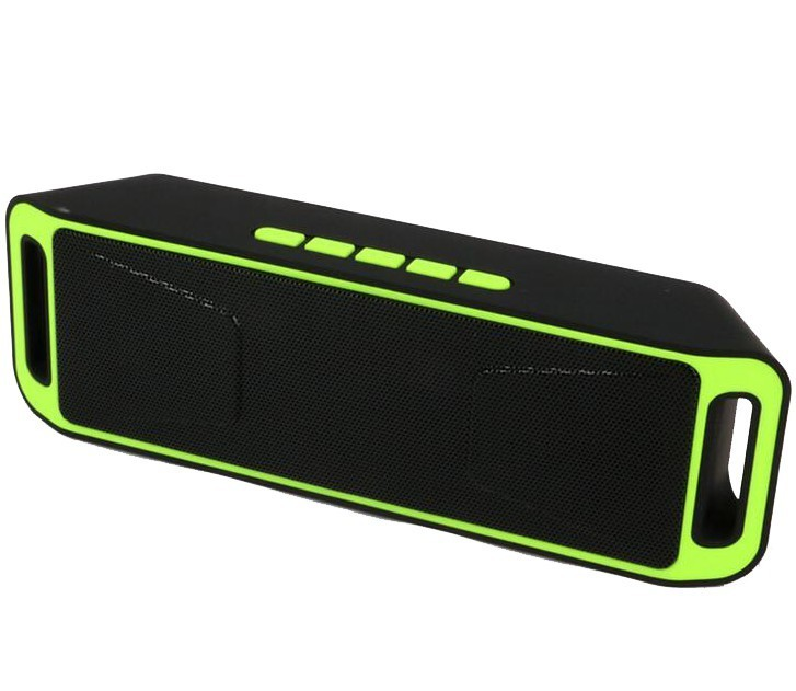 Boxa Portabila Bluetooth iUni DF02, USB, TF CARD, AUX-IN, Fm radio, Verde thumbnail